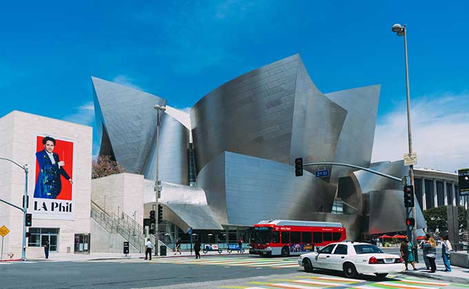 Walt Disney Concert Hall, Los Angeles,